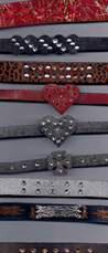 JewelryVilla Leather bracelets