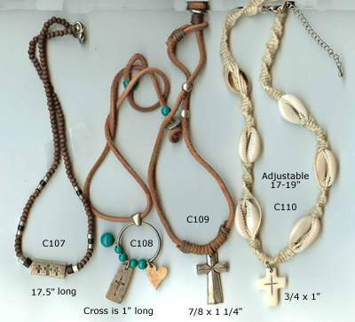 JewelryVilla cross necklaces, teen jewelry